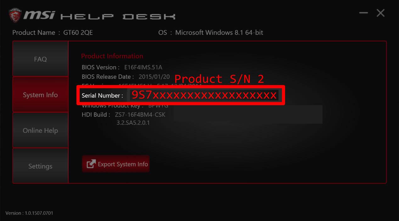 get motherboard serial number windows 10